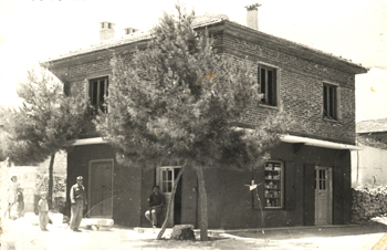Cafe Olive when first Built by Grandfather of Mr. Erkin Ilguzer