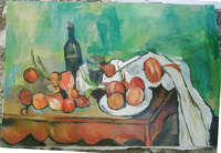 Reproduction d'apres Cézanne