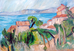 Reproduction from Cézanne